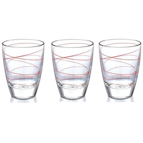 Δώρο Σετ 3 Ποτήρια Nερού Decover