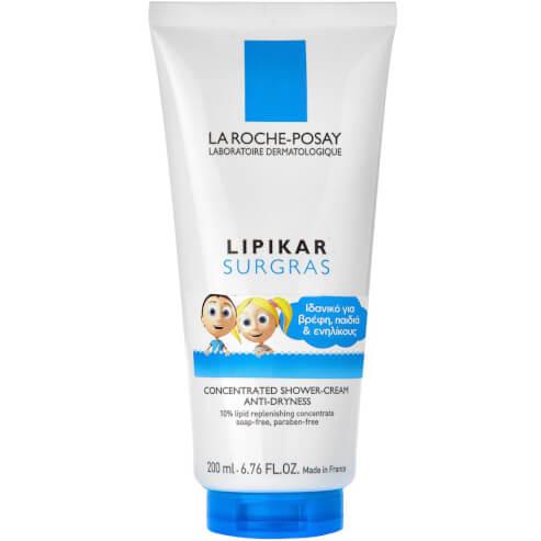 Lipikar Surgras Liquid Καθαριστικό Σώματος Κατά της Ξηρότητας 200ml - La Roche-Posay