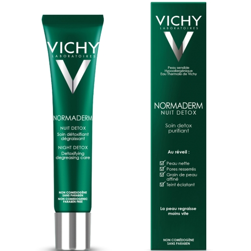 Normaderm Nuit Detox 40ml - Vichy