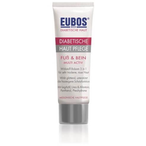 Eubos Diabetic Skin Care Foot & Leg Multi-Active Περιποίηση για το Διαβητικό Δέρμα, Γαλάκτωμα Ποδιών100 ml