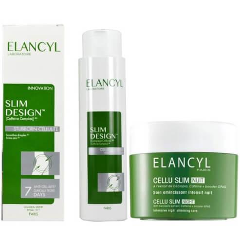 Elancyl Slim Design Caffeine Complex 3D - 200ml + Elancyl Cellu Slim Night 250ml