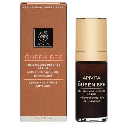 Δώρο Apivita Queen Bee Ορός Lifting Προσώπου Ολιστικής Αντιγήρανσης με Ελληνικό Βασιλικό Πολτό σε Λιποσώματα 10ml