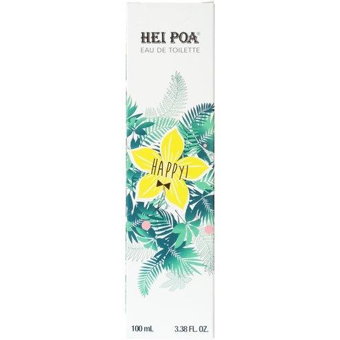 Hei Poa Eau de Toilette Happy Аромат със сладки нотки на цитруси, цвят от тиаре и ванилия100ml