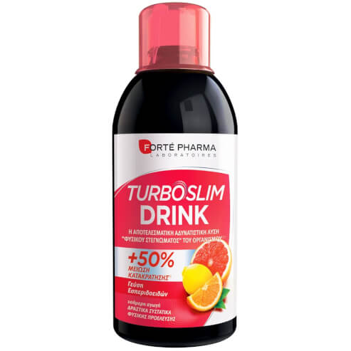Forte Pharma Turboslim Drink Αποτοξινώνει τον Οργανισμό με Αδυνατιστική Δράση Γεύση Εσπεριδοειδών 500ml