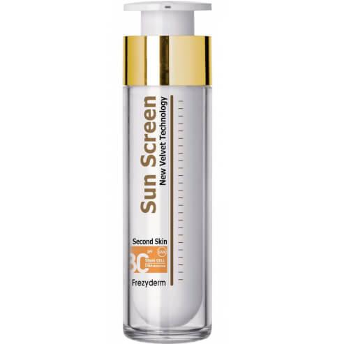 Frezyderm Sun Screen Color Velvet Face Spf30 Αντηλιακή Προσώπου με Χρώμα, Υψηλής Προστασίας & Βελούδινης Υφής 50ml