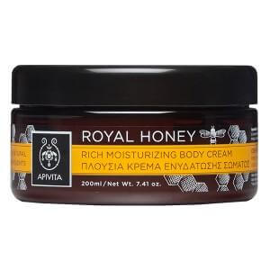Apivita Royal Honey Πλούσια Κρέμα Ενυδάτωσης Σώματος με μέλι Τόνωση & Aναζωογόνηση 200ml