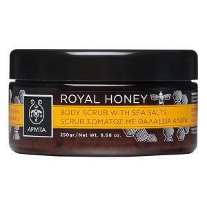 Apivita Royal Honey Scrub Σώματος με Θαλάσσια Άλατα με μέλι Τόνωση & αναζωογόνηση 200gr