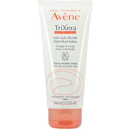 Avene Trixera Nutrition Lait Nutri-Fluide Λεπτόρρευστο Θρεπτικό Γαλάκτωμα για την Ενυδάτωση του Ευαίσθητου Ξηρού Δέρματος 200ml