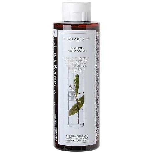 Korres Σαμπουάν Δάφνη & Echinacea για Πιτυρίδα & Ξηροδερμία 250ml
