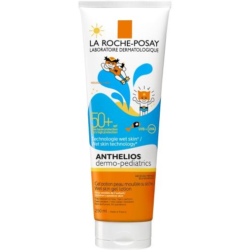 Anthelios Dermo-Pediatrics Wet Skin Gel Lotion Spf50+ 250ml - La Roche-Posay