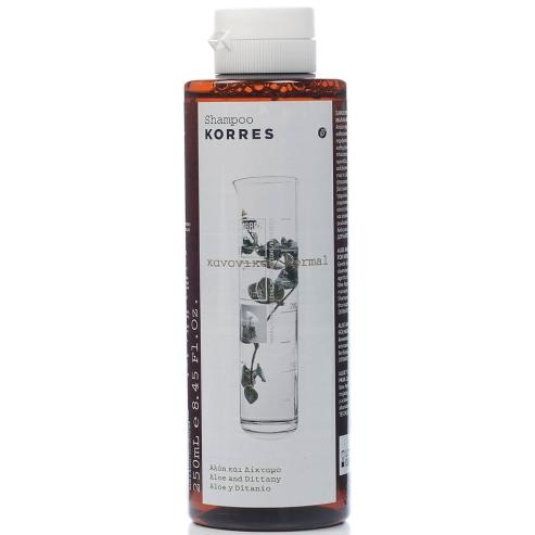 Korre Aloe & Dittany Shampoo για Κανονικά Μαλλιά 250ml