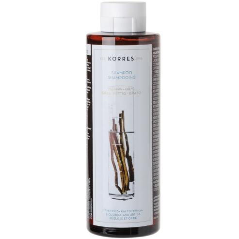 Korres Σαμπουάν Γλυκόριζα & Τσουκνίδα για Λιπαρά Μαλλιά 250ml