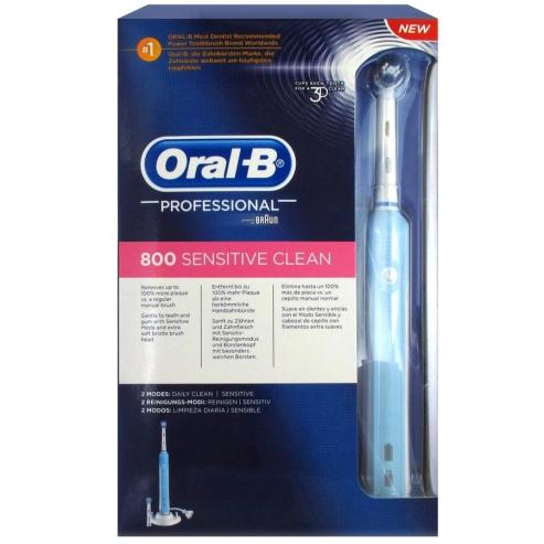 Oral-B Professional Care 800 Sensitive Ηλεκτρική Επαναφορτιζόμενη Οδοντόβουρτσα