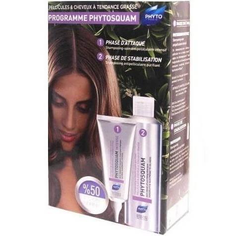 Phyto Phytosquam Set Anti Dandruff Moisturizing Shampoo 200ml & Intense Anti Dandruff Treatment Shampoo 100ml -50% στο 2ο Προιόν
