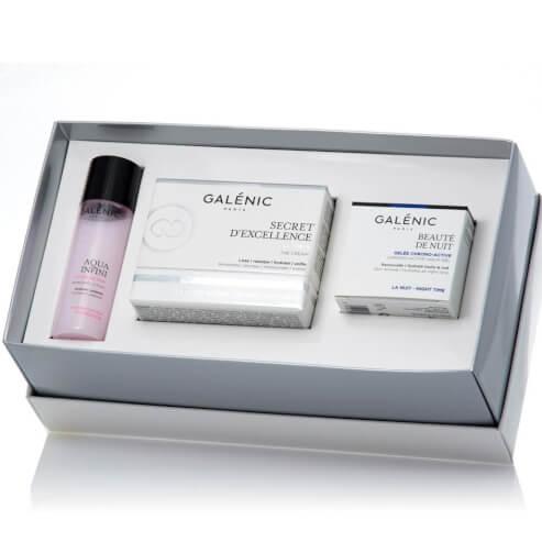 Galenic Gift Set Secret d\' Excellence La Creme 50ml & Δώρο Beaute de Nuit 15ml & Aqua Infini Lotion de Soin 40ml