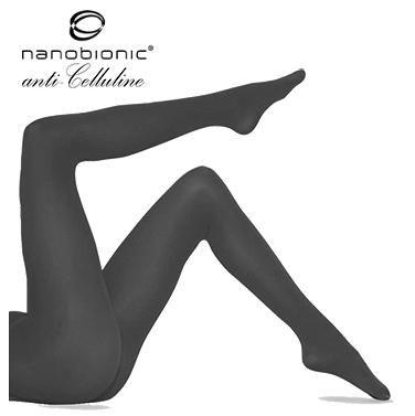 Nanobionic® Чоропогащник 60 Den 3D Намаляване на външния вид целулита