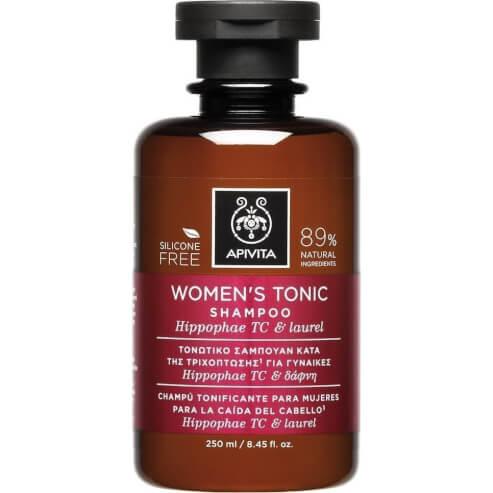 Apivita Women\'s Tonic Σαμπουάν για Γυναίκες Κατά της Τριχόπτωσης με Hippophae Tc & Δάφνη 250ml