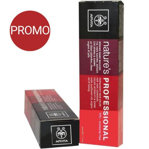 Apivita Nature\'s Professional Amonia Free Μόνιμη Βαφή Μαλλιών Promo 50ml