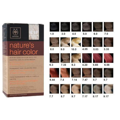 Apivita Βαφές Μαλλιών Natures Hair Color Με Μέλι & Ηλίανθο