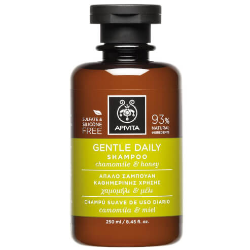 Gentle Daily Shampoo With Chamomile & Honey 250ml - Apivita