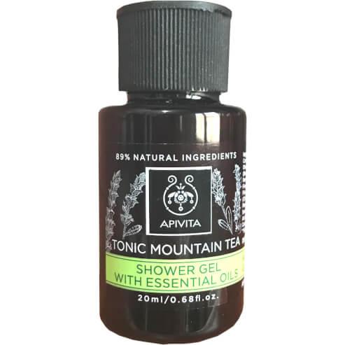 Δώρο Apivita Tonic Mountain Tea Shower Gel με Αιθέρια Έλαια 20ml
