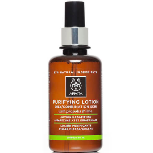 Purifying Lotion For Oily/Combination Skin With Propolis & Lime 200ml - Apivita