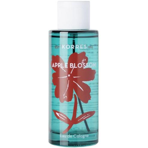 Korres Eau De Cologne Apple Blossom Αναζωογονητικό Άρωμα με Τονωτικό Εκχύλισμα Ginger & Αλόης 100ml