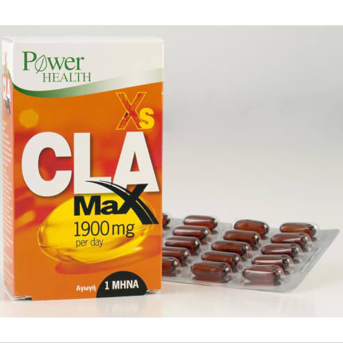 Power Health Xs CLA Max 1900 Per Day Κάψτε Λίπος Στο Maximum 60caps
