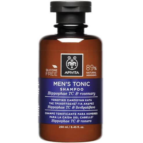Men\'s Tonic Shampoo With Hippophae TC & Rosemary 250ml - Apivita