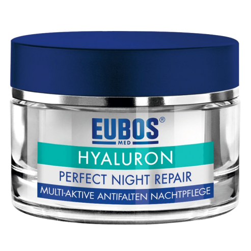 Eubos Hyaluron Perfect Night Repair Creme Αντιρυτιδική Κρέμα Νύχτας 50ml