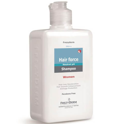 Frezyderm Hair Force Shampoo Women Τριχοτονωτικό Σαμπουάν Ειδική Σύνθεση για Γυναίκες 200ml