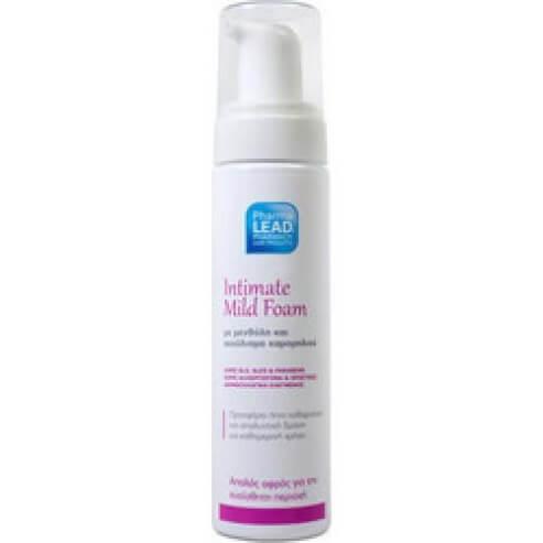 Pharmalead Intimate Mild Foam Αφρός Καθαρισμού για την ευαίσθητη περιοχή με Μενθόλη & Εκχύλισμα Χαμομηλιού 200ml
