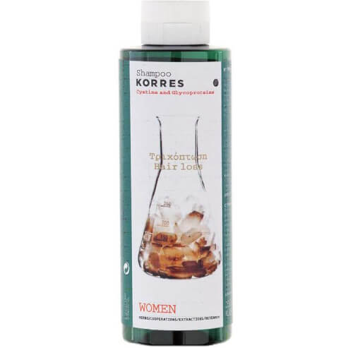 Korres Shampoo Κυστίνη & Γλυκοπρωτείνες κατά της Γυναικείας Τριχόπτωσης 250ml