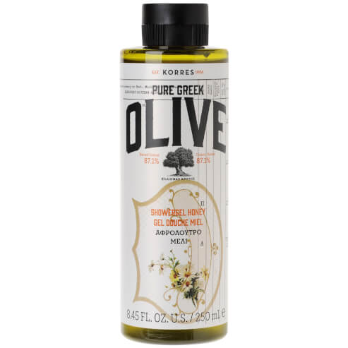 Pure Greek Olive Showergel Honey 250ml - Korres