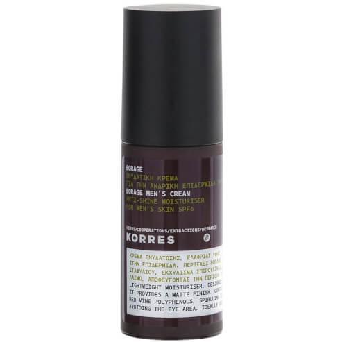 Borage Men\'s Cream Spf6 50ml - Korres
