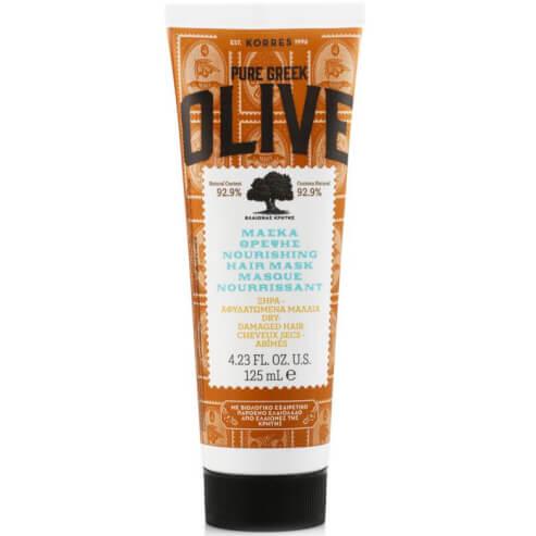 Korres Pure Greek Olive Μάσκα Θρέψης για Ξηρά & Αφυδατωμένα Μαλλιά 125ml