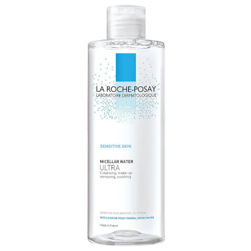 La Roche-Posay Micellar Water Ultra Sensitive Skin Απαλό Νερό Καθαρισμού & Ντεμακιγιάζ για Ευαίσθητες Επιδερμίδες, Πρόσωπο-Μάτια