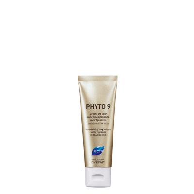 Phyto Phyto 9 Κρέμα Ημέρας Θρέψης & Λάμψης Με 9 Φυτά Πολύ Ξηρά Μαλλιά 50ml