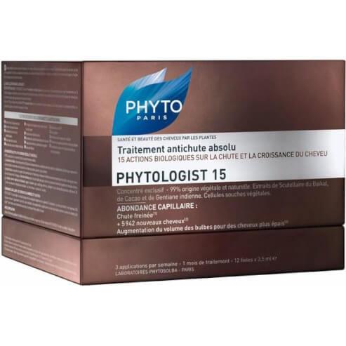 Phyto Phytologist 15 Absolute Anti-Hair Loss Treatment η Απόλυτη Αγωγή Κατά της Τριχόπτωσης 12vials x 3,5ml