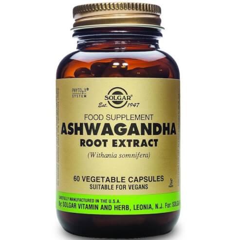 Solgar Sfp Ashwagandha Root Extract - АШВАГАНДА КОРЕН 60veg.caps