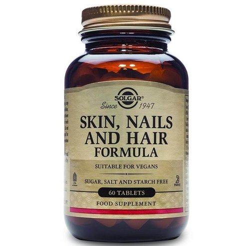 Solgar Skin Nails & Hair Formula Συμπλήρωμα Διατροφής για την Υγεία των Μαλλιών, Νυχιών & του Δέρματος tabs