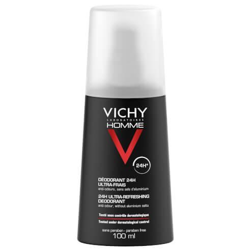 Vichy Homme Deodorant Ultra Frais Vaporisateur Για Τον Αντρα Σε Μορφή Spray 100ml