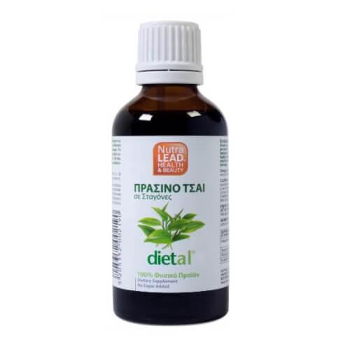 Nutralead Dietal Πράσινο Τσάι σε Σταγόνες Συμπυκνωμένο 99.4% ,50ml