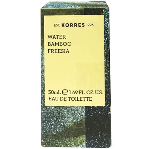 Water, Bamboo & Freesia Eau de Toilette 50ml - Korres